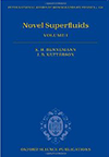 Novel Superfluids